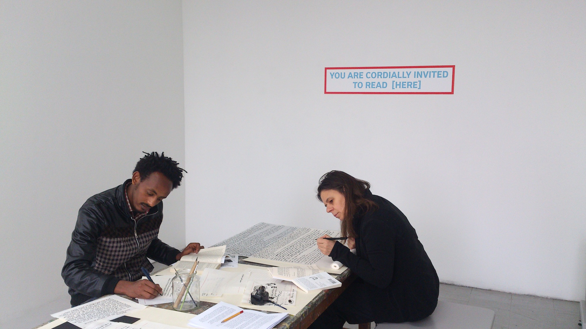 Il Milione, with Yonas, and Petra Wolters, 2014.